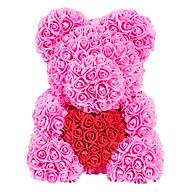 Bó Hoa Hồng Nhựa Hình Gấu thumbnail
