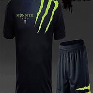Bộ quần áo thể thao nam mùa hè Monster chất vải cực mát thumbnail