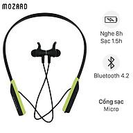 Tai nghe Bluetooth Mozard Flex4 Đen Xanh - Hàng Chính Hãng thumbnail