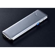 Bật lửa kim loại điện cảm ứng 520 thông minh, tiện lợi - Giao màu ngẫu nhiên thumbnail
