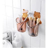 Đồ Đựng Bàn Chải Kem Đánh Răng Hình Gấu Dễ Thương thumbnail