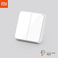 Công tắc tường thông minh Xiaomi Mijia mới, phiên bản dòng thời gian thực, công tắc tường, nâng cấp OTA, liên kết thông minh, có thể được sử dụng với Ứng dụng mihome thumbnail