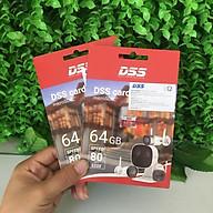 Thẻ Nhớ 64gb DSS , thẻ nhớ chuyên dùng cho camera , tốc độ truy xuất cao bảo hành 24 tháng thumbnail
