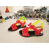 dép sandal bé gái nơ đỏ siêu xinh thumbnail