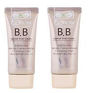 Combo 2 tuýp kem nền siêu mịn tông tự nhiên BB cream benew HÀN QUỐC ( 50ml) thumbnail