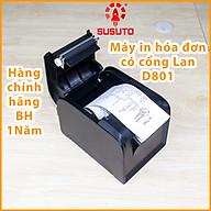 Máy in hóa đơn nhiệt in qua mạng LAN khổ 80mm hàng chính hãng GP-D801 thumbnail