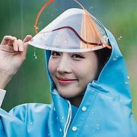 Áo mưa phản quang 1 đầu có kính cao cấp thumbnail
