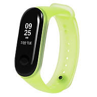 Band Strap Watch Strap Wearable Replaceable Translucent Colorful Watch Band Replacement for XIAOMI MI Band 3 thumbnail
