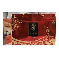 Nước hồng sâm Sobaek Hàn Quốc hộp 30 gói x 70ml tặng kèm 1 hộp dầu lạnh Omega 3 Hàn Quốc 165ml thumbnail