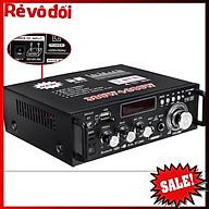 12V 220V BT-298A 2CH LCD Display Digital HIFI Audio Stereo Power Amplifier Bluetooth FM Radio Car Home 600W-Cao Cấp Loại thumbnail