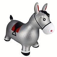 Thú Nhún Bơm Hơi Hình Chú Ngựa Màu Xám Toys House thumbnail