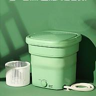 Máy giặt mini gấp gọn du lịch tặng lồng vắt thumbnail