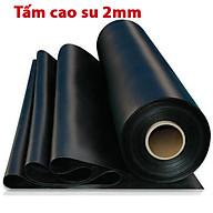 Tấm cao su dày 2mm giảm chấn, chịu lực, chịu nhiệt độ cao, chống trơn trượt, chống rung, chịu dầu, chống cháy, cách âm dùng để lót sàn làm gioăng giá nhà sản xuất, cuộn cao su tấm giá rẻ thumbnail