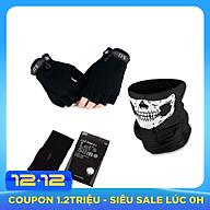 Combo chống nắng dành riêng cho phượt thủ - 3 món (Khăn đa năng, ống tay, khăn trùm mặt nạ njnja) thumbnail
