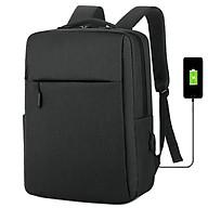 Balo đựng vừa Laptop thời trang nam chất liệu cao cấp,chống thấm,tặng kèm cổng sạc USB tiện lợi ST0031 thumbnail
