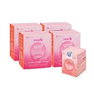 Combo giữ ẩm, sáng da InnerB Aqua Bank lọ 56 viên & nước uống Collagen (4 hộp x 6 chai) thumbnail