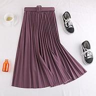 Chân váy xếp ly kèm belt thumbnail