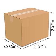 25x22x20 - Combo 10 thùng giấy carton gói hàng thumbnail