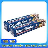 Bộ 2 Giấy Không Thấm Dầu Giấy Nướng Bánh Goodbake GB30 (30cm x 5m) thumbnail