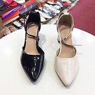 Giày cao gót công sở Hot trend 2021 da bóng 21137 thumbnail