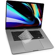 Miếng phủ bàn phím cho MacBook Pro 13 inch 16 inch New 2020 hiệu JCPAL FitSkin Tpu siêu mỏng 0.2mm - Hàng nhập khẩu thumbnail