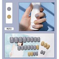 Bộ 24 móng tay giả như hình R072 (kèm keo) thumbnail