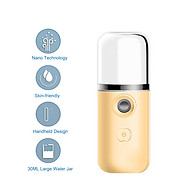 N-ano F-acial Mist Sprayer Face Moisturizing Tool Machine Mini Humidifier USB Powered Operated Built-in 200mAh High thumbnail