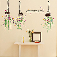 Decal dán tường 3 giỏ hoa Beauty can make DLX5329 thumbnail