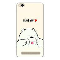 Ốp lưng dẻo cho Xiaomi Redmi 5a_Ice Bear thumbnail