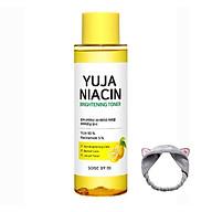 Nước hoa hồng dưỡng sáng da, làm mờ thâm Some By Mi Yuja Niacin Brightening Toner 150ml + Băng Đô Tai Mèo Xinh Xắn ( Màu Ngẫu Nhiên) thumbnail
