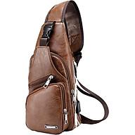 Túi đeo chéo da nam 611 (Màu Ngẫu Nhiên) thumbnail