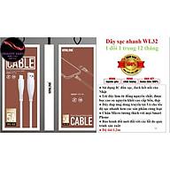 Dây Cáp Sạc Nhanh 5A Winlink WL32 (Iphone - Micro - TypeC) - hàng chính hãng thumbnail