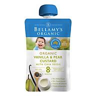 Hỗn Hợp Kem Sữa Lê Và Hạt Chia Với Chiết Xuất Vanilla Hữu Cơ Bellamy s Organic (120g) thumbnail