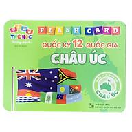 Bộ Thẻ Học Flash Card Thông Minh Cho Trẻ Phân Biệt Quốc Kỳ Của Các Quốc Gia Châu Úc thumbnail
