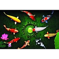 Giấy dán tường - Cá Koi - Mã 10 thumbnail
