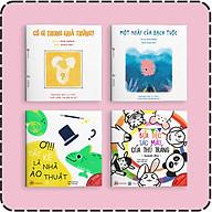 Set 4 cuốn Ehon Màu Sắc - Cho bé 0-6 tuổi thông minh, sáng tạo thumbnail