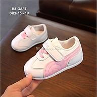 Giày bé gái sơ sinh 0 12 tháng mùa hè - Giày tập đi đế ca su thời trang chống trơn trượt GA87 thumbnail