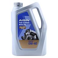 Nhớt Động Cơ AISIN ESEN0044P 0W-40 SN CF PAO & ESTER Blend (4L) thumbnail