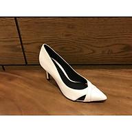 giày mũi nhọn gót cao 7cm thiết kế hai quai chéo thumbnail