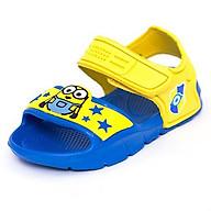 Giày Sandal Quai Nhựa Bé Trai Disney Minion Royal MN 018 Vàng thumbnail