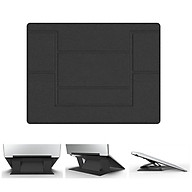 Đế nâng Laptop, Macbook vô hình siêu mỏng gọn - MÀU ĐEN thumbnail