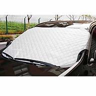 Tấm Che Chống Nắng Xe Hơi 4,5,7 Chỗ Phản Quang, cách nhiệt kính trước cho xe ô tô dầy 3 lớp, 1 mặt tráng nhôm thumbnail