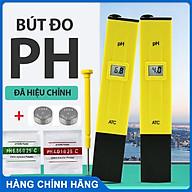 Bút đo chỉ sô pH chính xác cao -ĐÃ HIỆU CHỈNH- dành cho thủy sinh -Kèm 2 gói hiệu chỉnh ph + Tặng Pin thay thế thumbnail