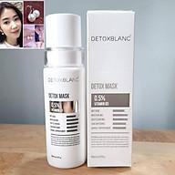Mặt Nạ Thải Độc Trắng Da Ngừa Mụn Nám Detox BlanC Detox Mask (mẫu mới) + tặng kèm hoa tai ngọc trai cực xinh thumbnail