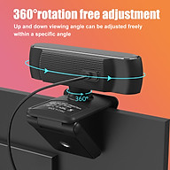HXSJ S2 USB Webcam 2.5K FHD PC 5MP Webcam with AF Light Correction and Dual Mics for Video, Teaching with Privacy Cover thumbnail