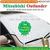 Tấm che chắn nắng kính lái dành cho ô tô Mitsubishi Outlander CAO CẤP 3 Lớp Chắn Nắng Cản Nhiệt OTOALO thumbnail