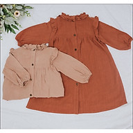 Đầm Suông Tay Lỡ Cao Cấp Cực Kute - LN88 (Dành cho bé từ 10-25kg) thumbnail