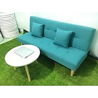 Ghế sofa giường bed xanh ngọc bố salon phòng khách SB4-ghevsban thumbnail