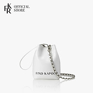 Túi đeo chéo nữ Mini Pingo Bag Lettering Chain Set FBPG12ECAWT - màu trắng thumbnail