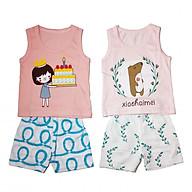 Combo 2 bộ cotton hàng xuất chất siêu đẹp cho bé gái ZIPPY-DB-002 thumbnail